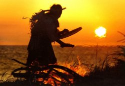 Чукотский праздник встречи солнца «Тэркытаарон»
